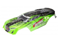 AR402197 Body Paintd/Decal FAZON VOLTAGE Green/Blk - ARAC3330