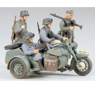 BMW R75 et side-car Tamiya 1/35 - TAM-35016