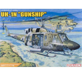 UH-1N Gunship Dragon 1/35 - T2M-D3540
