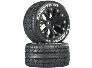 Bandito ST 2.8 2WD Mounted Rear C2 Black (2) - DTXC3542
