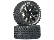 Picket ST 2.8 2WD Mounted 1/2  Offset Blk (2) - DTXC3550