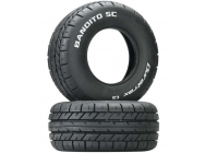 Bandito SC On-Road Tire C2 (2) - DTXC3797