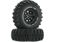 Deep Woods CR C3 Mntd 1.9  Crawler Black (2) - DTXC4026