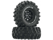 Showdown CR C3 Mounted 1.9  Crawler Black (2) - DTXC4034