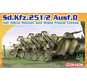 Sd.Kfz.251/2 Ausf.D Dragon 1/72 - T2M-D7348