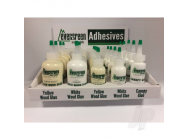 Wood Adhesive Dealer Assortment (21 Bottles) - EVG80