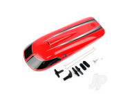 Red Colour Hatch with Decals & Painting - JOY890105