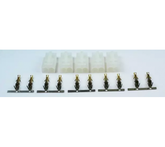 A2PRO Connecteur Tamiya Male, contacts plaques OR (5 pcs) - S04414531