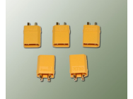 A2PRO Connecteur XT-30 OR Male (5 pcs) - 14231