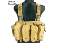 Kgear - Gilet Tactical Chest Rig- Coyote Brown KG-G0309