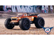 ARRMA 1/10 Outcast 4x4 4S BLX Truggy Rush Brushless, Bronze - ARA102692