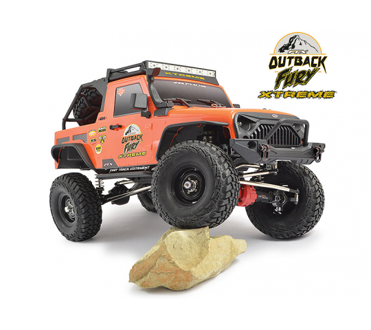 FTX Outback fury Xtreme 4x4 Trail Crawler roller - FTX5583