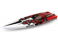 Traxxas Spartan Brushless Graffiti Rouge TSM - TRX57076-4-RED