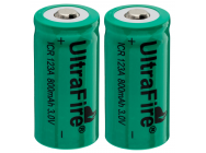 Piles lithium CR-123A rechargeables - Lumitorch - A66019