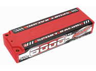 Accu Lipo 2S 7.4V 6000mAh 50C Sport Racing Team Corally - C-49420