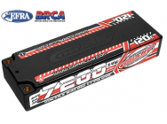 Lipo 2S 7.4V 7200mAh 120C Stick Team Corally - C-49520