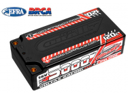 Lipo 2S HV 7.6V 5000mAh 120C Shorty Team Corally - C-49605