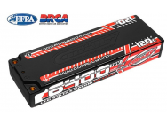 Lipo 2S HV 7.6V 6400mAh 120C LCG Stick Team Corally - C-49610