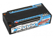 Accu Lipo 2S 7.4V 5000mAh 100C Shorty Team Corally - C-49705