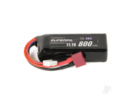 Radient LiPo 3S 800mAh 11.1V 30C Deans (HCT)  - RDNB8003S30HCT