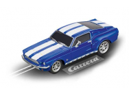 Ford Mustang  67 Racing blue Carrera 1/43 - T2M-CA64146