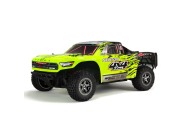 Arrma 1/10e SENTON 3S BLX 4WD Brushless Short Course Truck with Spektrum RTR, Green/Black - ARA102721T1