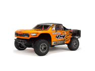 Arrma 1/10e SENTON 3S BLX 4WD Brushless Short Course Truck Radio Spektrum RTR Orange Noir - ARA102721T1-COPY-1