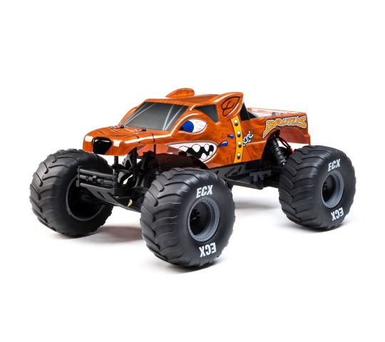Brutus 1/10 2wd Monster Truck: RTR - ECX03055