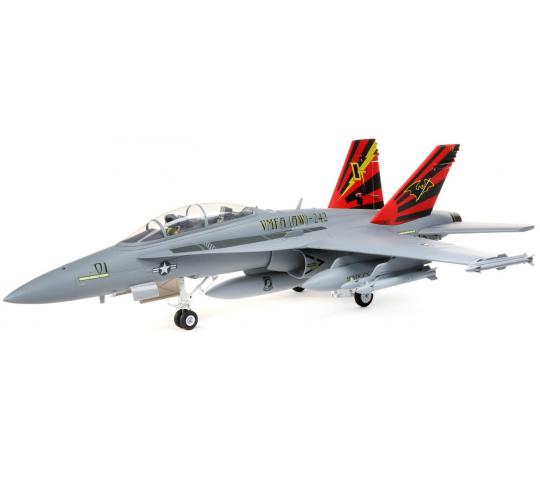 F-18 Hornet 1350mm EDF 80mm AS3X et Safe Select BNF - EFL3950