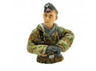 Buste 1/16 Pilote char allemand WWII camouflage - 222285130