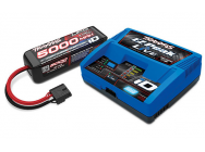 Pack Chargeur Live 2971G + Lipo 4S 5000mAh 2889X Prise Traxxas iD - TRX2996G