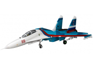 SU-30 1640mm Twin EDF 70mm AS3X & SAFE BNF - EFL01050