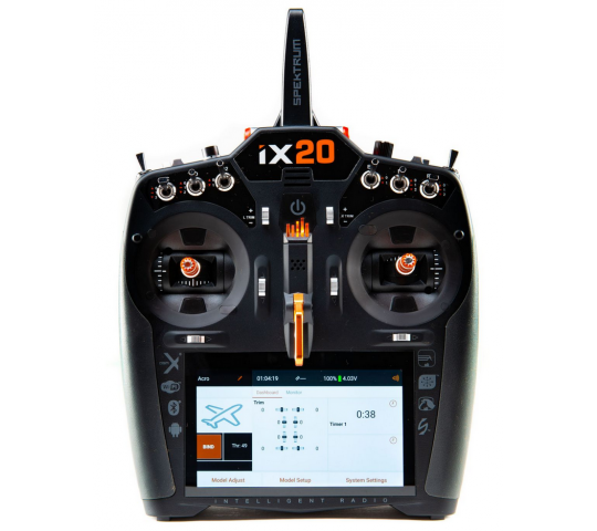 Spektrum iX20 DSMX 20 voies 2.4Ghz - SPMR20100