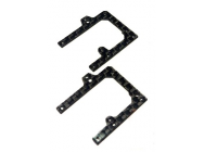 Remplacement piece lateral avant du chassis carbon MCPX - ORG-M007LV-CF