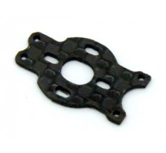 Support moteur brushless pour chassis carbon MCPX - ORG-M010LV-CF