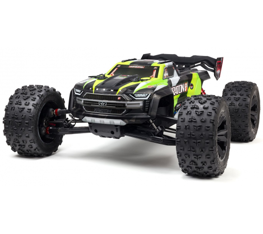 Arrma Kraton 1/5 BLX 4WD 8S Speed Monster RTR Green - ARA110002T1