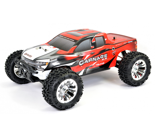 FTX Carnage 2.0 Brushed 1/10 4WD RTR Rouge - FTX5537R