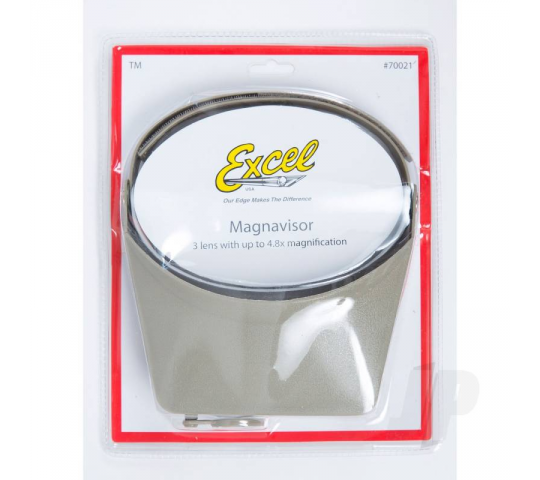High Quality Deluxe Magna Visors Grey (Boxed) - EXL70021
