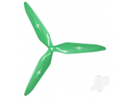 3X Power - 13x12 Propeller (CW) Rev./Pusher Green - MAS3X13X12RG1
