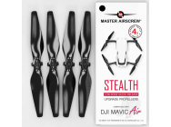 Mavic Air STEALTH Upgrade Propellers 5.3x3.3 Prop Set x4 Black - MASMC05333SB4