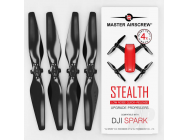 MR-SPARK - 4.7x2.9 Prop Set x4 Black - MASSP04729SB4