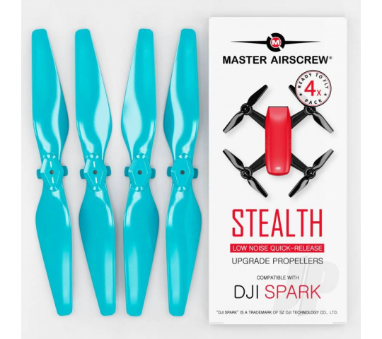 MR-SPARK - 4.7x2.9 Prop Set x4 Blue - MASSP04729SL4