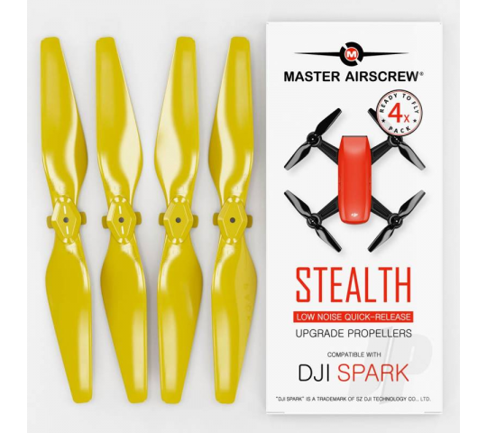 MR-SPARK - 4.7x2.9 Prop Set x4 Yellow - MASSP04729SY4