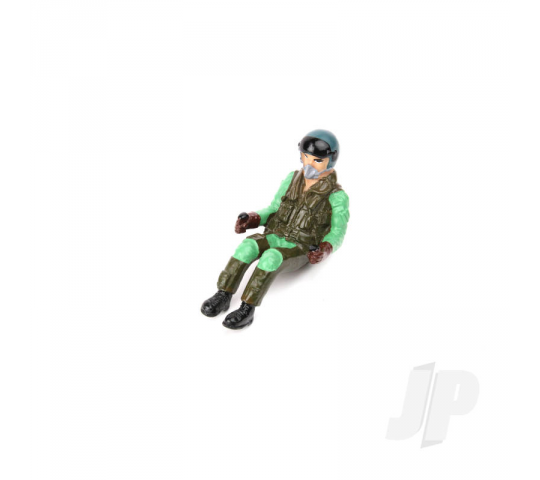 Pilot WWII Full-Body Seated Brown/ Green (for SEA-276) - 5508447