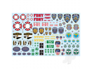 NYC Auxiliary Service Logos Decal Pack - MKA034