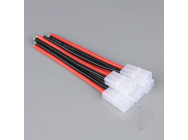 Pigtail Connector Tamiya Female 14AWG 100mm (Battery End) (5pcs) - RDNAC010074
