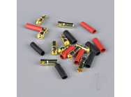 3.5mm Gold Connector Pairs including Heat Shrink (5pcs) - RDNAC010088
