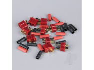 Deans Pairs including Heat Shrink (5pcs) - RDNAC010001