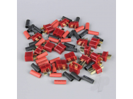 Deans Pairs including Heat Shrink (10pcs) - RDNAC010002