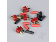 Deans Male including Heat Shrink (ESC End) (5pcs) - RDNAC010004